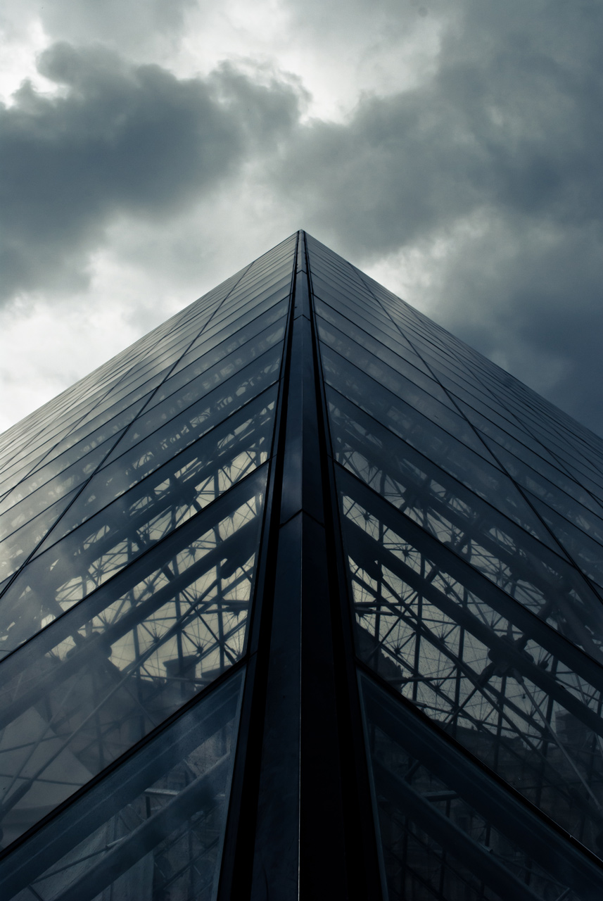 Photo: The Glass Pyramid