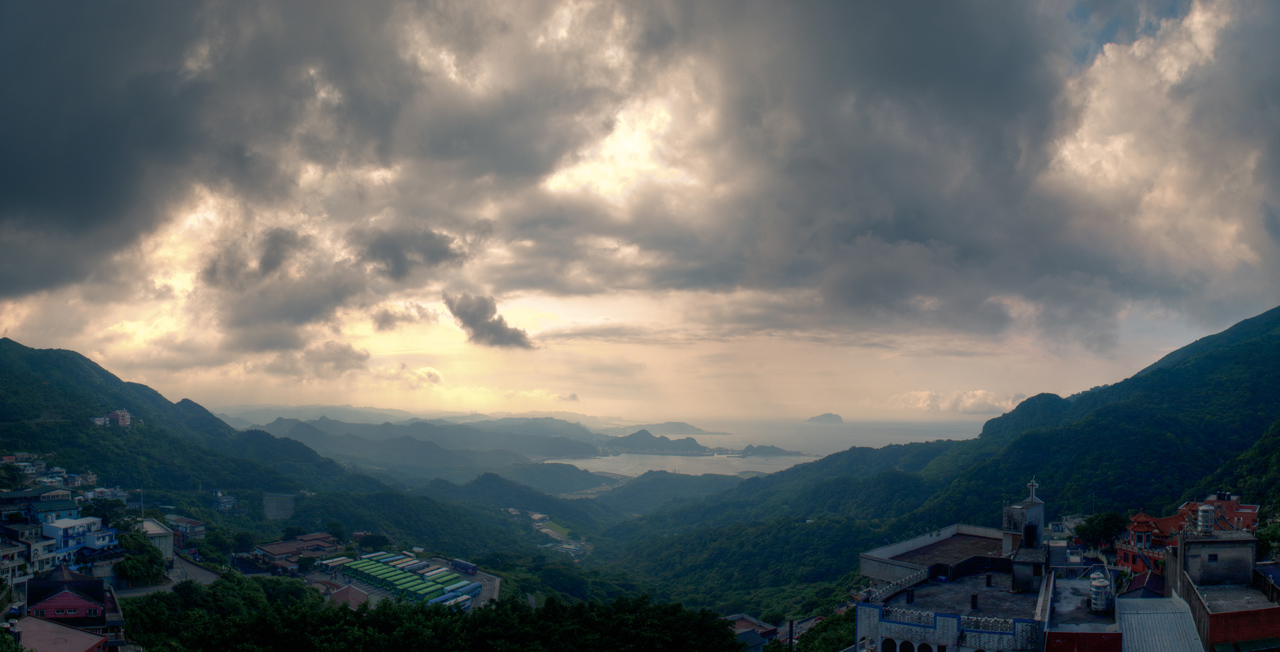 Photo: From the Heights of Jiufen