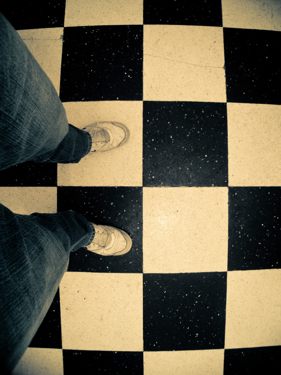 Photo: Stand on your own two feet